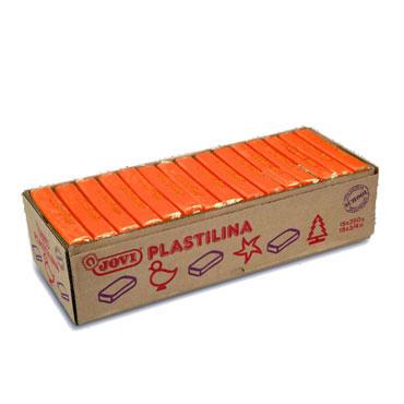 15 pastillas plastilina 350 g. naranja Jovi 7204