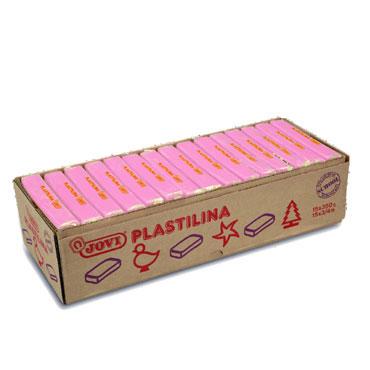 15 pastillas plastilina 350 g. rosa Jovi 7207