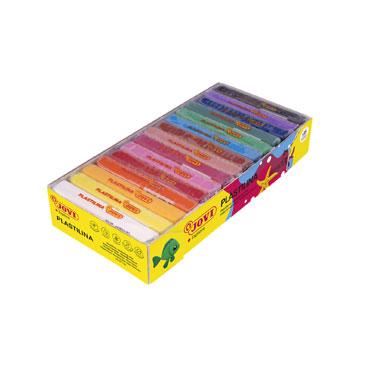 15 pastillas plastilina 350 g. colores surtidos Jovi 72S