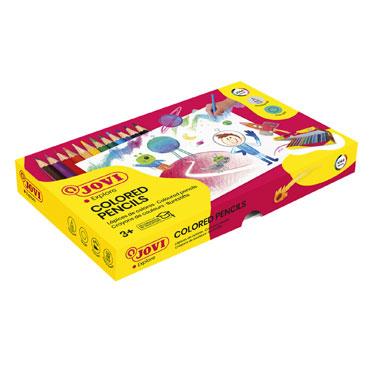 144 lápices color hexagonales Jovi 739