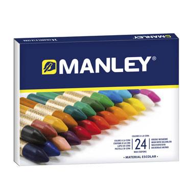 24 ceras Manley 124  MNC00066