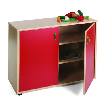 Armario 3 estantes 90x76,5x40 cm. Mobeduc 600202