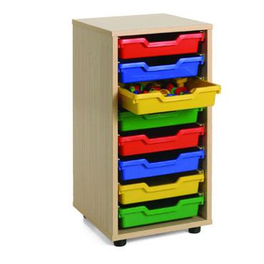 Cubetero 1 columna 36x76,5x40 cm. Mobeduc 600209