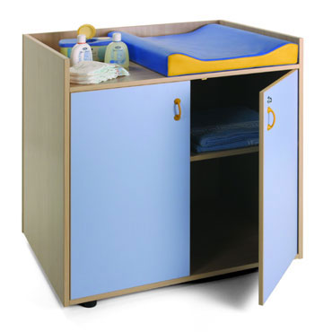 Mueble cambiador 2 estantes Mobeduc 600701