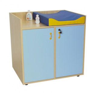 Mueble cambiador con Escalera Mobeduc 600708