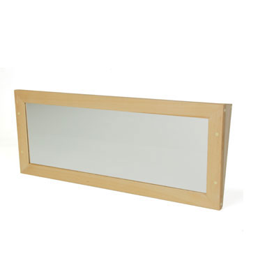 Espejo inclinado 100x40 cm. Mobeduc 600714