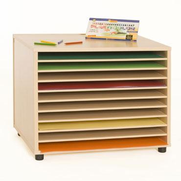 Mueble archivador cartulinero Mobeduc 600908