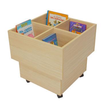 Cubo libreria biblioteca Mobeduc 602103