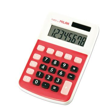 Calculadora 150808 roja Milan 150808RBL
