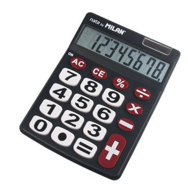 Calculadora teclas grandes 12 dígitos Milan 151712BL