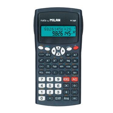 Calculadora científica negra Milan 159110KBL