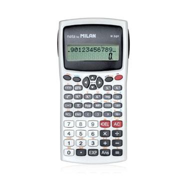 Calculadora científica blanca Milan 159110WBL