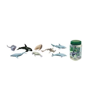 8 figuras de Animales Marinos Miniland 27460