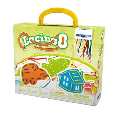 Lacing objetos Miniland 45305