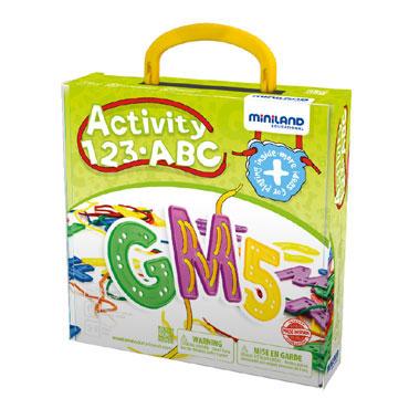 Activity ABC 123 Miniland 45307