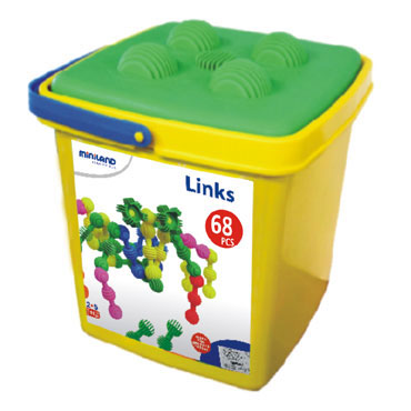 Interstar Links 68 piezas Miniland 94012