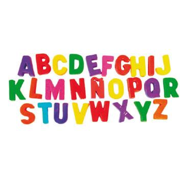 160 letras magnéticas Miniland 97911