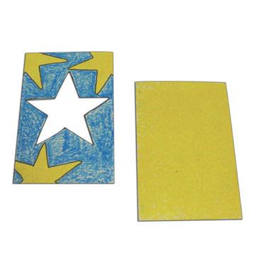 5 marcos estrella 15x10 cm. Niefenver 0700150