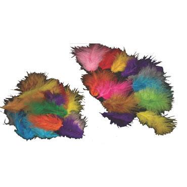 120 plumas colores surtidos Niefenver 0900207