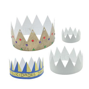 12 coronas cartón blanco Niefenver 1200106
