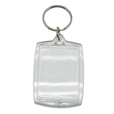 6 llaveros foto plástico cristal Niefenver 1300155