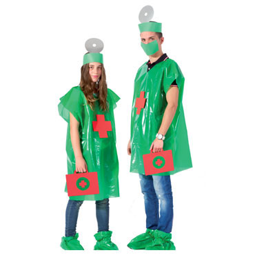 Pack disfraz Cirujano/a Niefenver 1500105