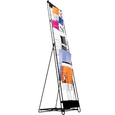 Expositor vertical 10 x Din A-4 Planning Sisplamo 835/C/10