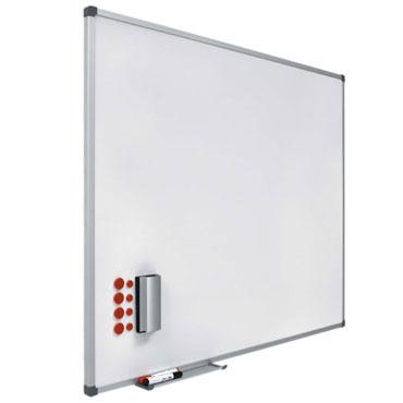 Pizarra blanca acero vitrificado 80x100 cm. Planning Sisplamo 720/2