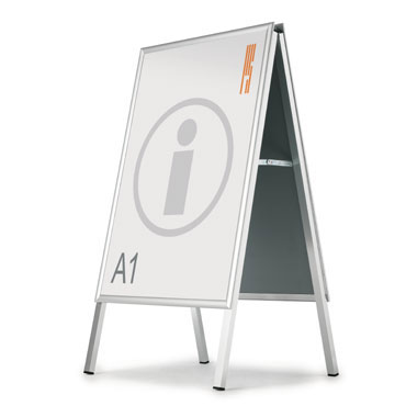 Expositor póster 2 caras 103x73 cm. Planning Sisplamo 850/I/D3