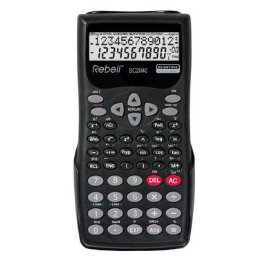 Calculadora escolar SC2040 12 dígitos Rebell