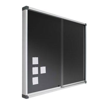 Vitrina tapizada 80x100 cm. Planning Sisplamo 760/V2