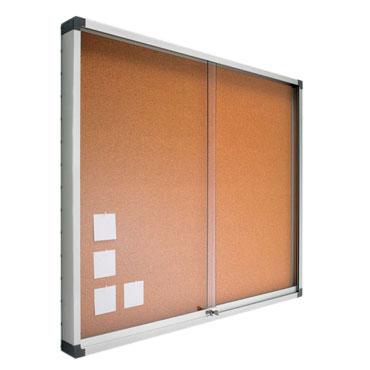 Vitrina corcho 100x120 cm. Planning Sisplamo 765/V3