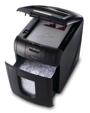 DESCATALOGADA Destructora automática Rexel Auto+ 130M con microcorte