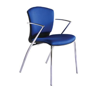 2 sillas confidente 966 azul Rocada RD-966/3