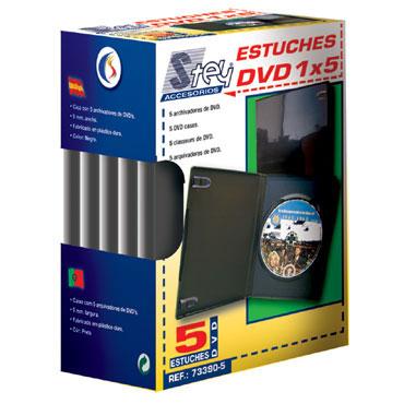 Estuche DVD PQ5 Stey
