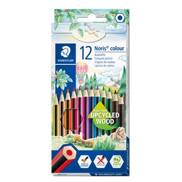12 lápices de color Noris Colour 185 Staedtler 185C12