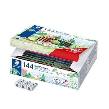 144 lápices de color Noris Colour 185 Staedtler 185C144