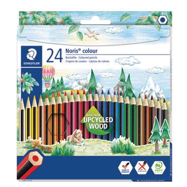 24 lápices de color Noris Colour 185 Staedtler 185C24