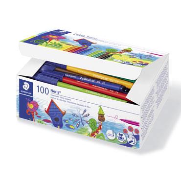 100 rotuladores de color Staedtler 326C100