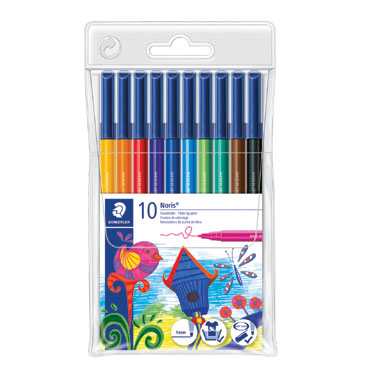 10 rotuladores de color Staedtler 326WP10