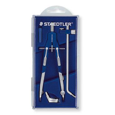 Compás bigotera con adaptador y ajuste rápido Mars 552 02 Staedtler 55202