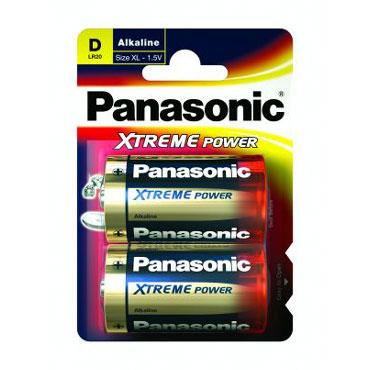 2 pilas alcalinas LR20/D Panasonic LR20