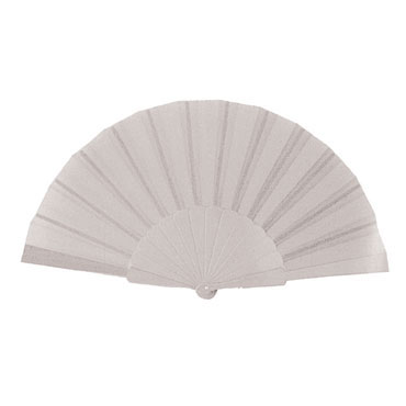 Abanico de plástico blanco starPLUS T158