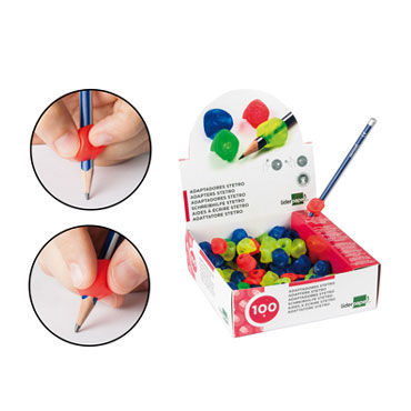 100 adaptadores de lápiz Liderpapel 14374