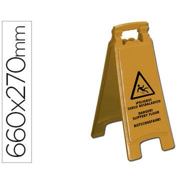 Señal suelo resbaladizo Q-Connect 36134