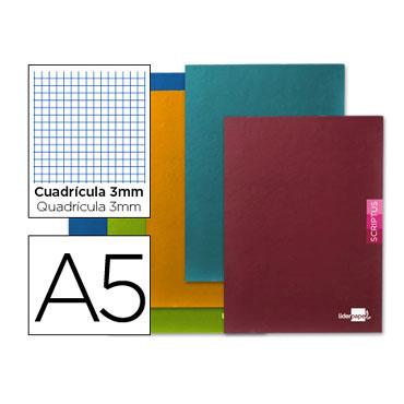 Libreta Scriptus 90 g/m² Din A-5+ c/3mm. Liderpapel 52162