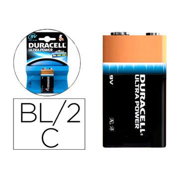 Pila alcalina Duracell Ultra Power 9V 59559