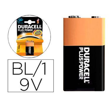 Pila alcalina Duracell recargable 9V 59568