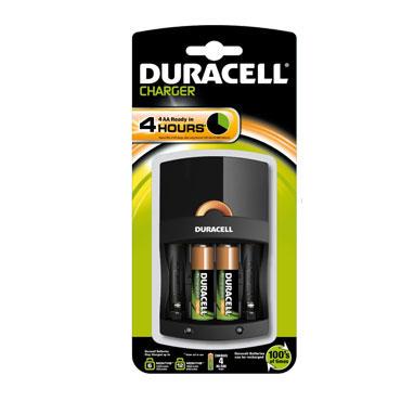 Cargador Duracell 4 horas + 2 Pilas AA 59569