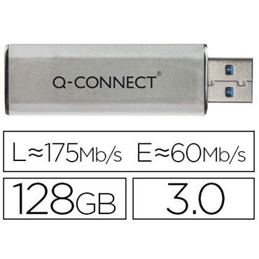 Memoria USB 128 GB Q-Connect